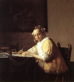 250px-Vermeer_A_Lady_Writing