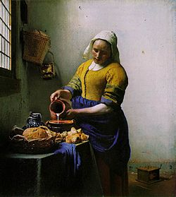 Vermeer_-_The_Milkmaid